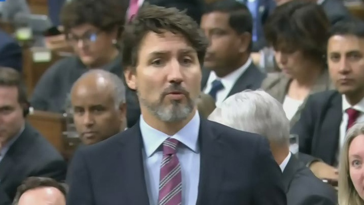 PM Trudeau addresses as question