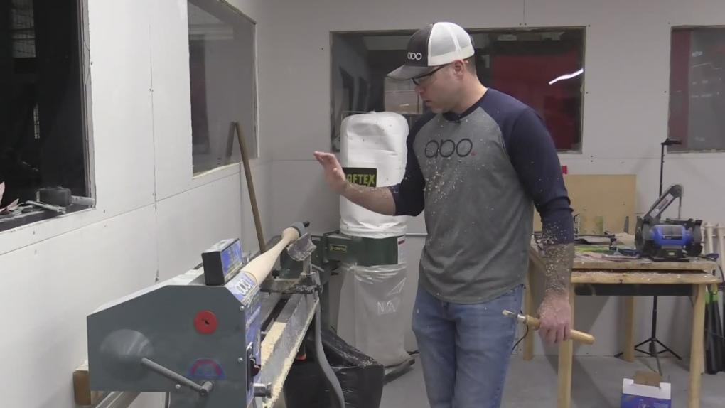 A Tillsonburg, Ont. baseball bat maker is headed to the major leagues