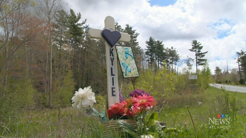 Parents rally in support of roadside memorials