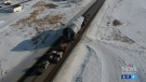 Large load continues journey to northern Alberta