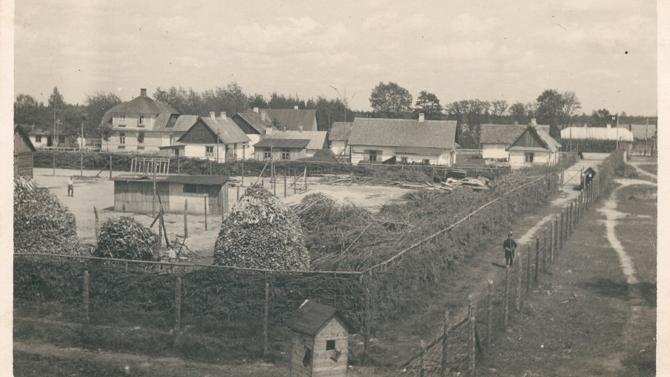 This summer 1943 photo provided by the U.S. Holocaust Memorial Museum shows the Nazi death camp Sobibor in Nazi German-occupied Poland. Between March 1942 and October 1943, about 167,000 people were killed at Sobibor, almost all Jews, according to the U.S. Holocaust Memorial Museum. (U.S. Holocaust Memorial Museum via AP)