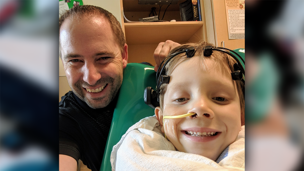 A six year old Calgary boy suffers from a rare condition called acute necrotizing encephalopathy.