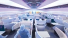 Airbus' vision for a next gen airplane cabin is one of the nominees. (Courtesy Crystal Cabin Award)