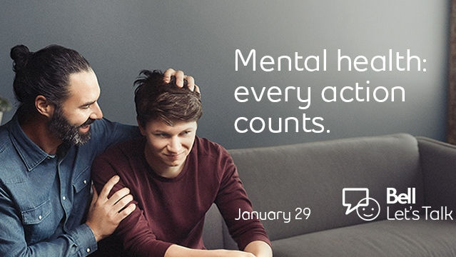 Bell Let's Talk Day, which raises money for mental health initiatives across Canada, is Wednesday, Jan. 29, 2020.
