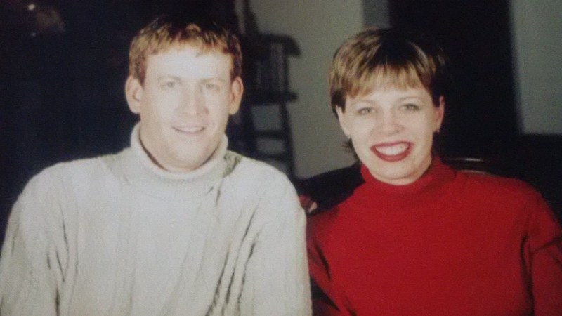 Dave and Denise Batters are photographed together in March 2004. (Senator Denise Batters / Facebook)