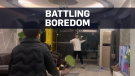 Quarantined people finding ways to fight boredom