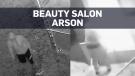 Alleged beauty salon arsonist singed eyebrows