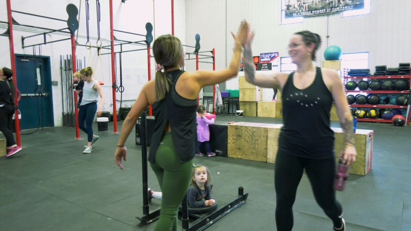 New moms get a workout and a chance to chat at Buns and Bottles