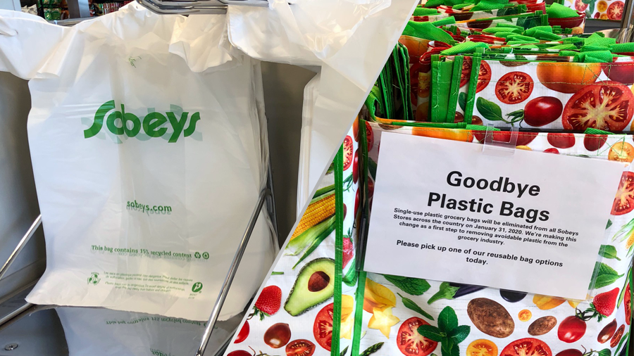 Sobeys eliminating plastic bags from stores