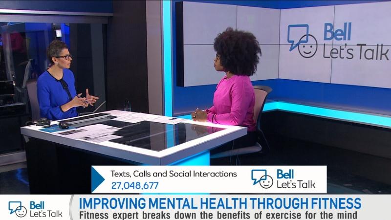 Bell Let's Talk - fitness