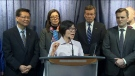 Amy Go, interim National President of the Chinese Canadian National Council for Social Justice, addresses the discrimination against Chinese Canadians following the coronavirus outbreak. (CTV News Toronto)