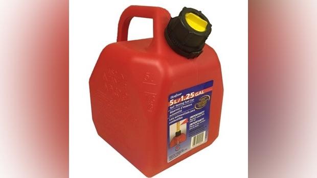 Gas can in Aaron Watt homicide