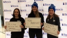 A Bell Let's Talk Day event is held at Brescia University College in London, Ont. on Wednesday, Jan. 29, 2020. (Jim Knight / CTV London)