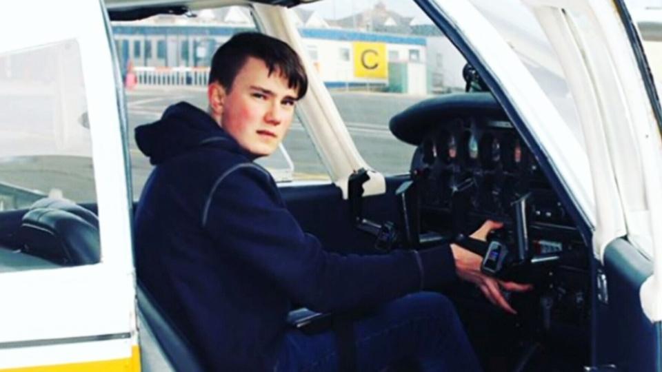 Fourteen-year-old Maksim Ferguson