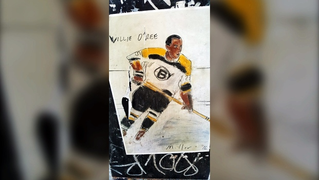 Blind in one eye, hockey pioneer Willie O'Ree went all the ...