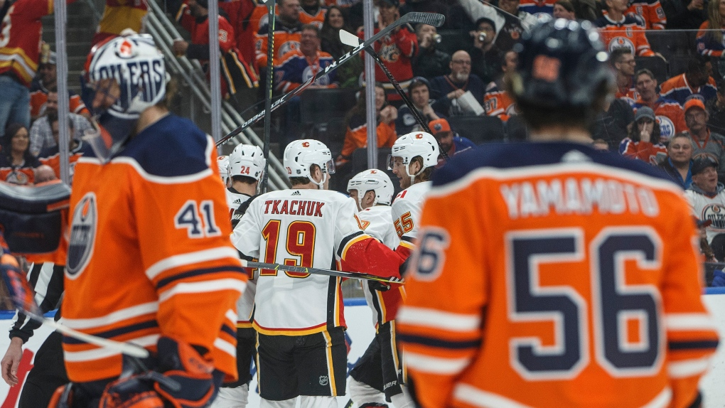 Andrew Mangiapane Nets Two Goals In Flames Win