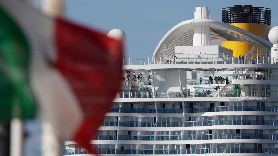 Italy cruise ship