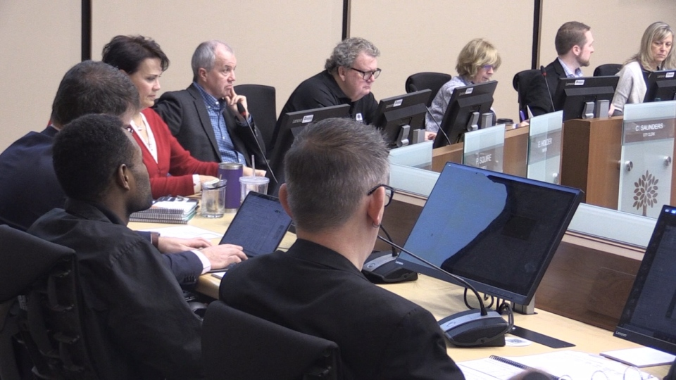 City council meets to discuss the multi-year budget in London, Ont. on Thursday, Jan. 30, 2020. (Daryl Newcombe / CTV London)