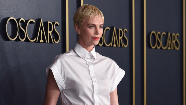 Charlize Theron arrives at the 92nd Academy Awards Nominees Luncheon at the Loews Hotel on Monday, Jan. 27, 2020, in Los Angeles. (Photo by Jordan Strauss/Invision/AP)