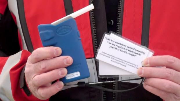 Calgary roadside screening device