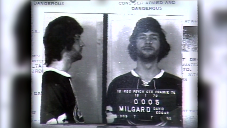 Teenager David Milgaard, who was wrongly convicted of the murder of a nursing student in 1970.
