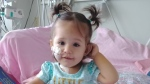 Savannah Hill, 18 months old, needs a stem cell transplant to cure an extremely rare form of leukemia.