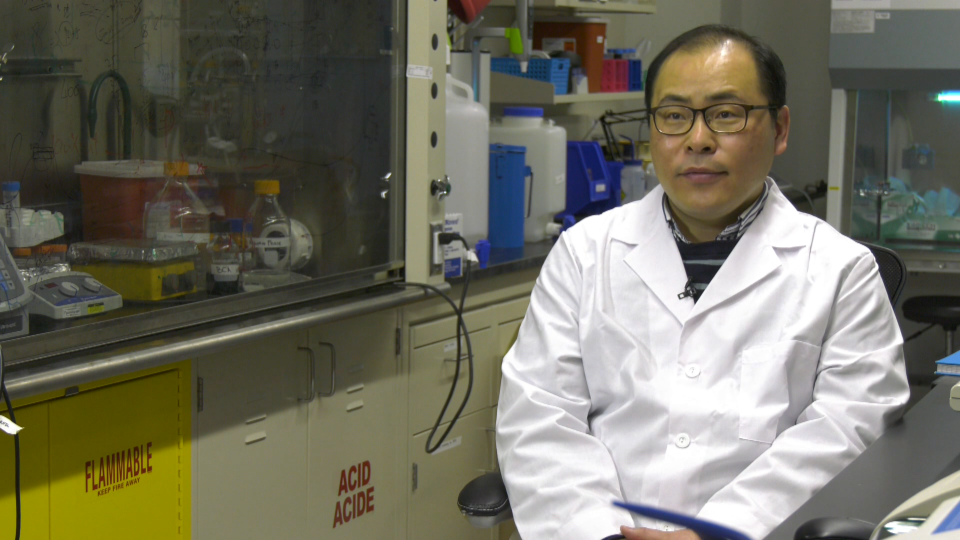 University of Alberta assistant professor Hyo-Jick Choi is warning the public face masks can help spread viruses if not handled and disposed of correctly, as pathogens will continue to live on a surface for several hours up to a week.