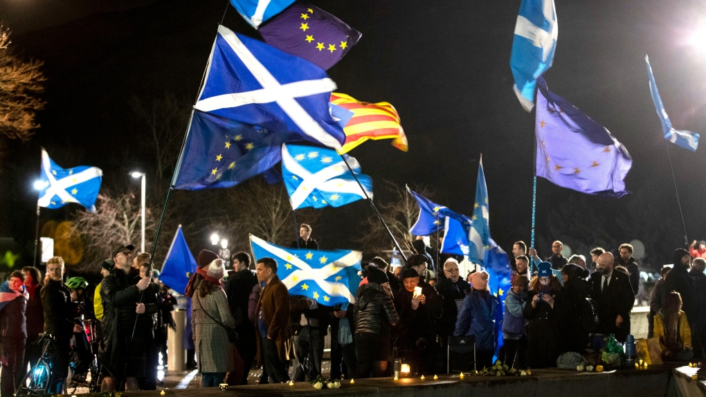 Scotland pushes for independence vote as Brexit becomes official