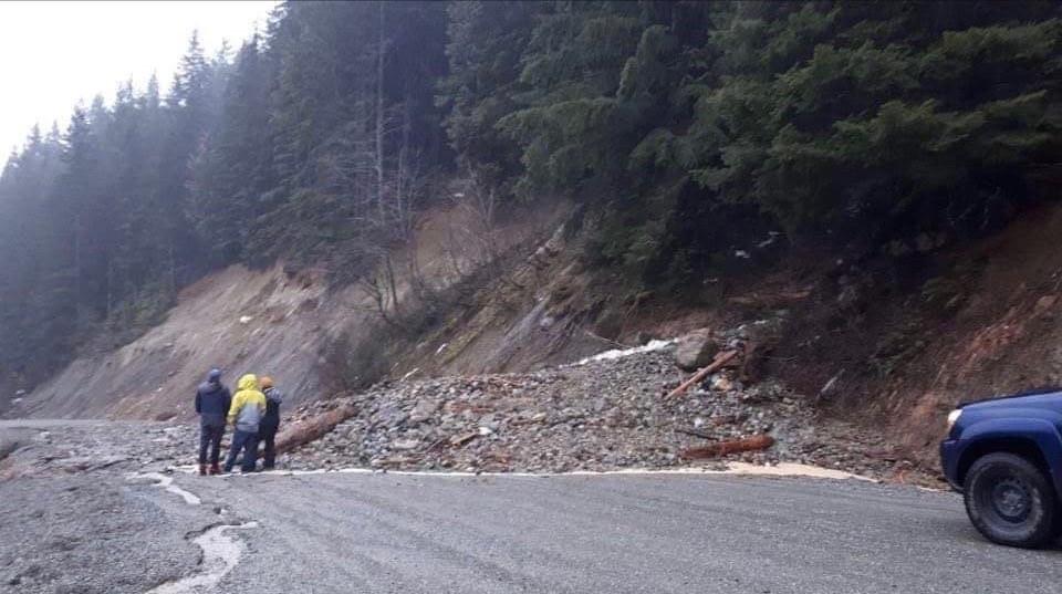 Sasquatch landslide