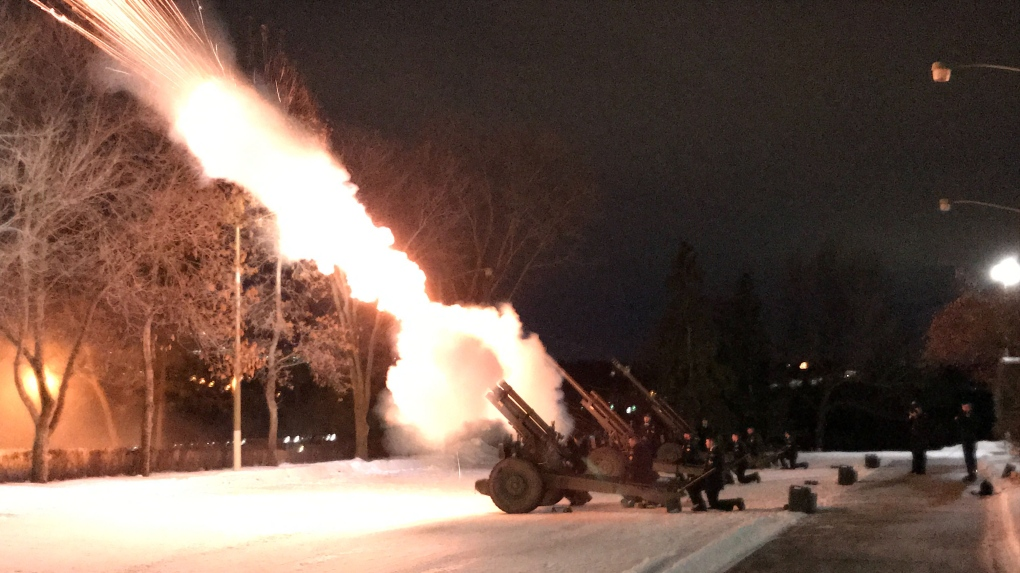 gun salute, 20th field regiment, Feb 1 2020