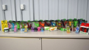 U.S. Customs and Border Protection says it seized a shipment containing 42,390 'pieces of drug paraphernalia' at a border crossing between Ontario and Minnesota. (U.S. Customs and Border Protection)
