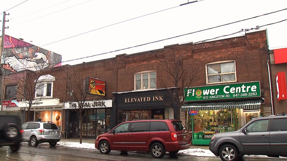 The owners of the Flower Centre in Toronto's Upper Beach neighbourhood say their business has been impacted by the fears surrounding the coronavirus.