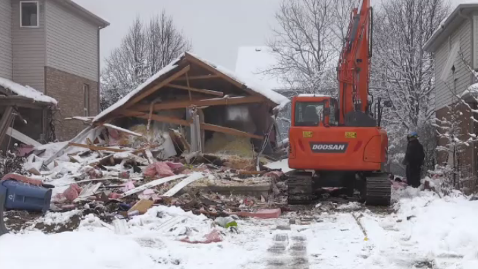 The Ontario Fire Marshal's office says their investigation into what caused a Guelph house explosion is wrapping up. (Feb. 2, 2020)