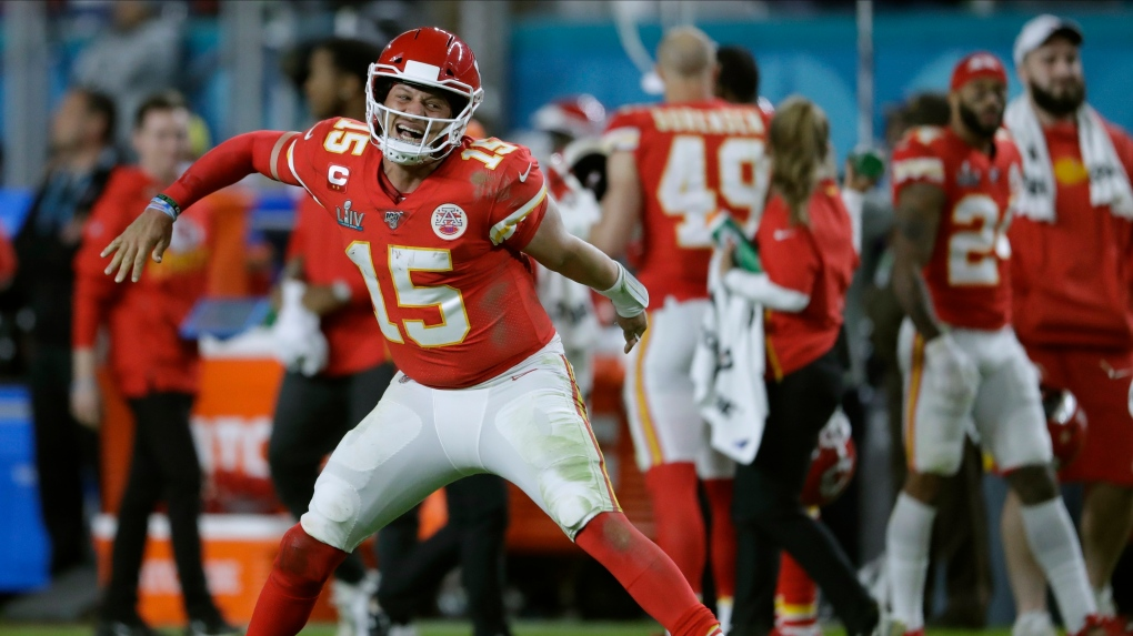 Kansas City Chiefs' quarterback Patrick Mahome