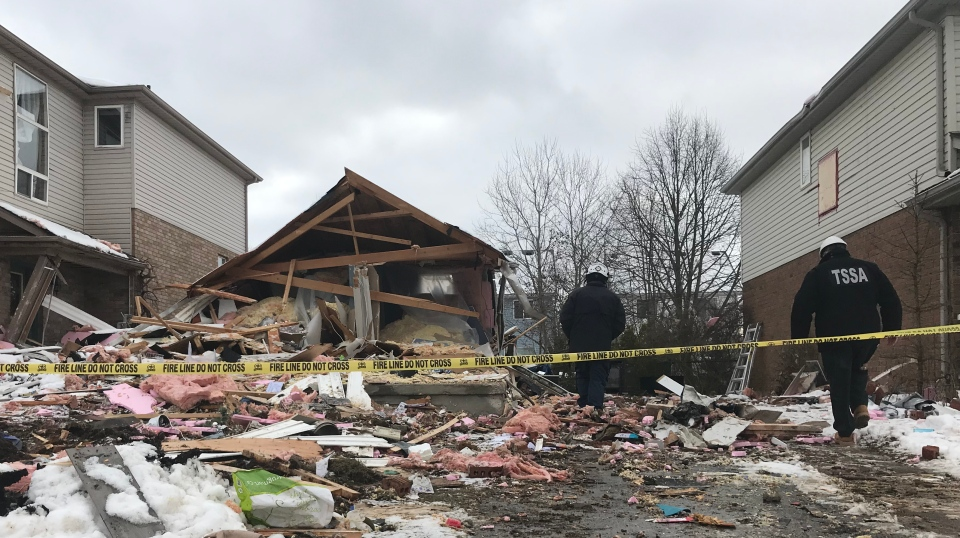 Guelph house explosion