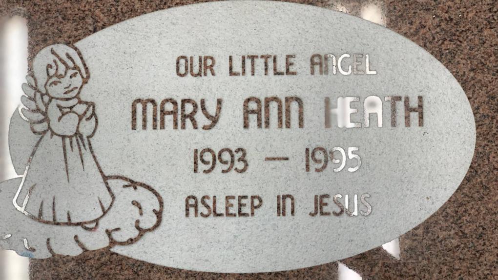 Toddler's headstone found in Penticton