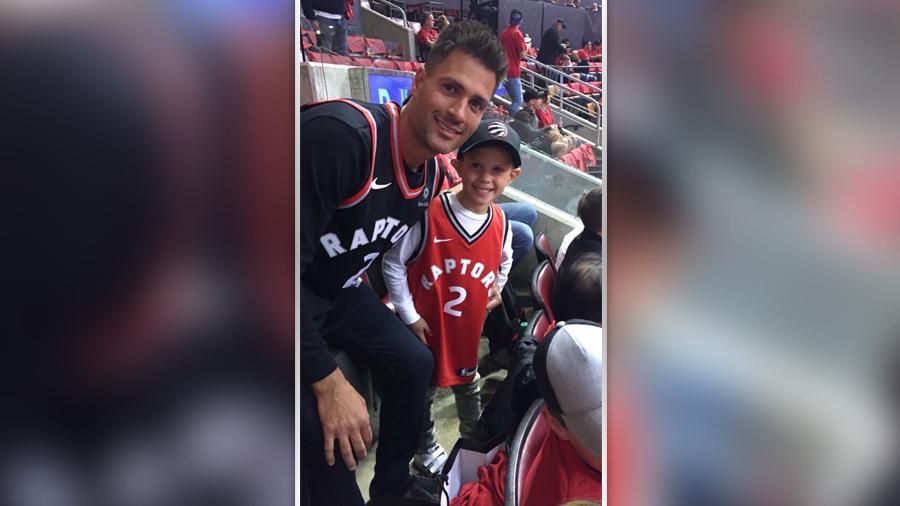 6 year old Ottawa boy pays on-ice tribute to Kobe Bryant | CTV News