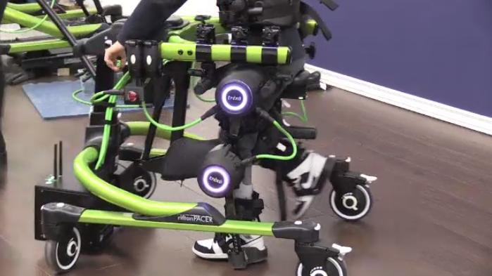 Trexo robotics helping kids walk
