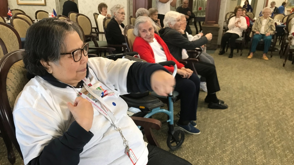 Breakdance, Wii featured at 2020 Seniors Games