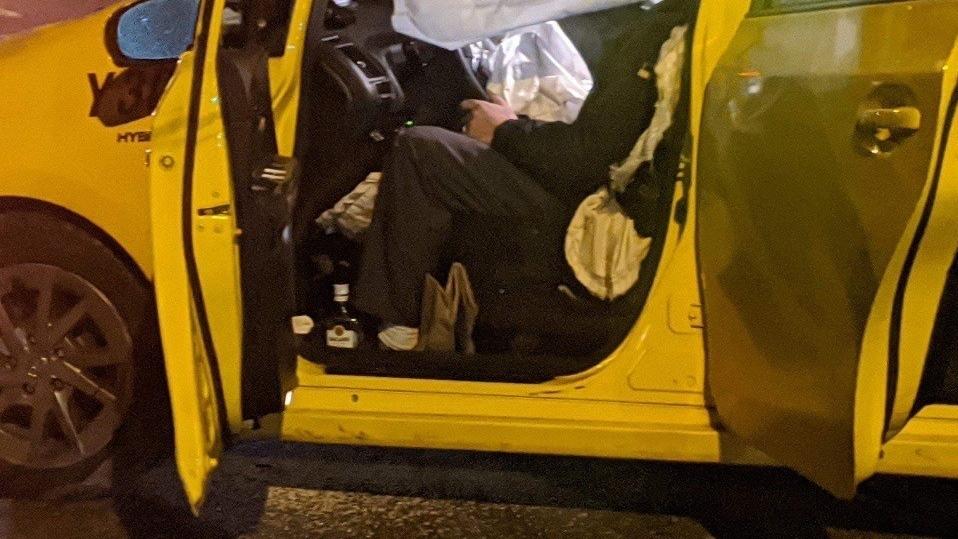 Cab crash