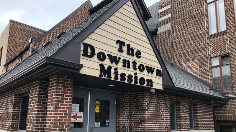 Downtown Mission in Windsor on Wednesday, Feb. 5, 2020. (Melanie Borrelli / CTV Windsor)