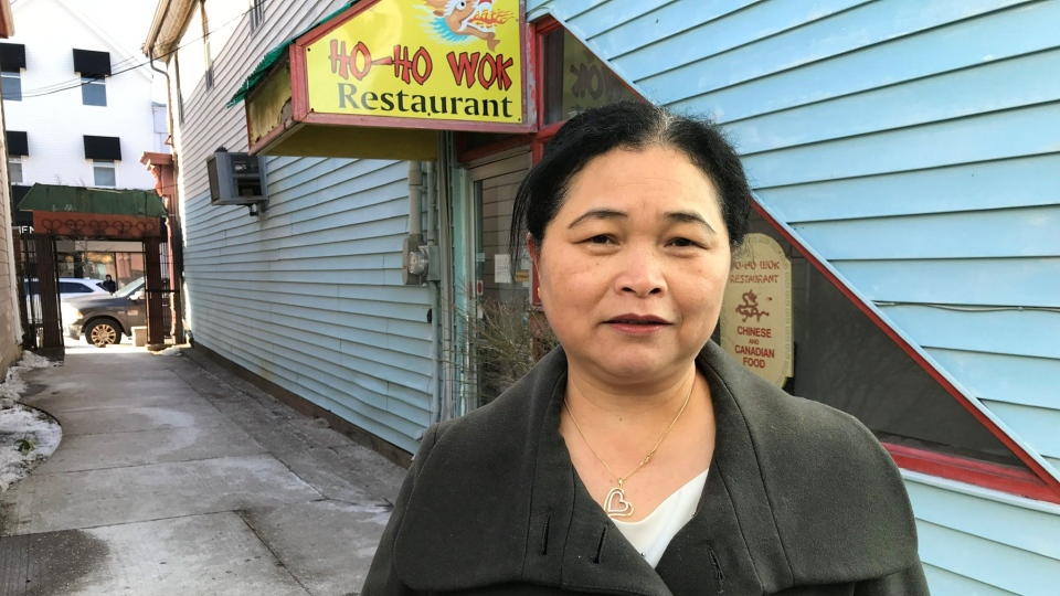 Sophie Luo, the owner of Ho-Ho Wok Restaurant, says the eatery will remain closed until Feb. 11, as they take extra safety precautions following a trip to China.