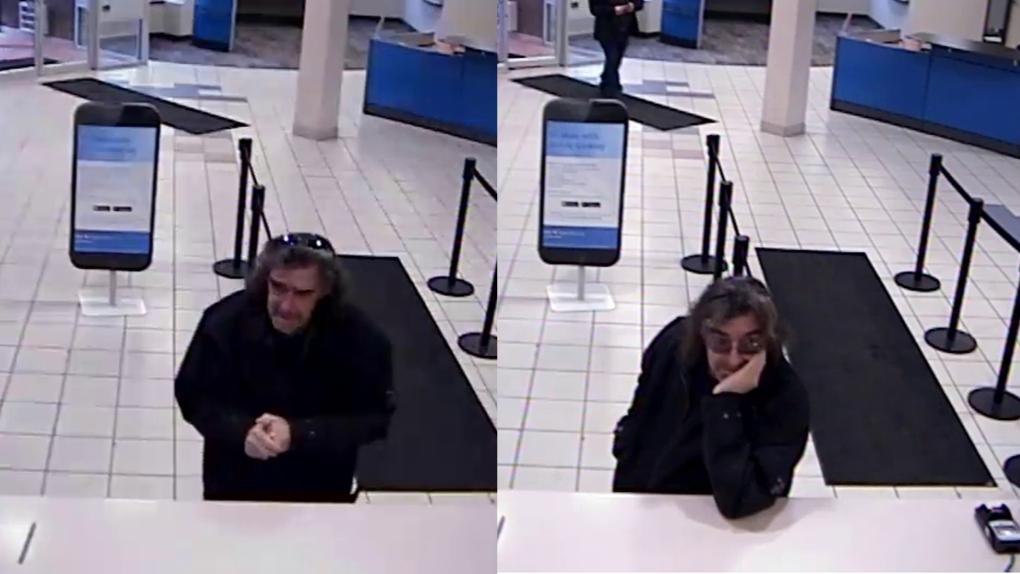 Red Deer bank robbery