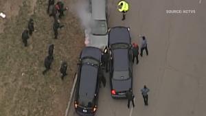 Police chase Kansas City