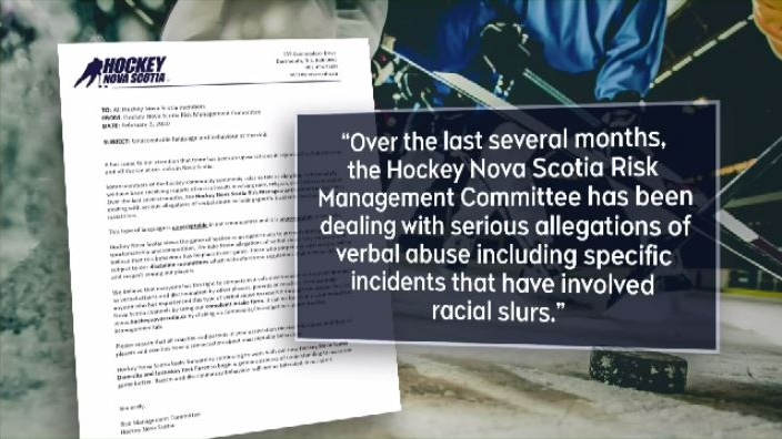 In a memo sent this week, the organization's risk management committee says there has been an upward trend in reports of verbal abuse -- both on and off the ice.