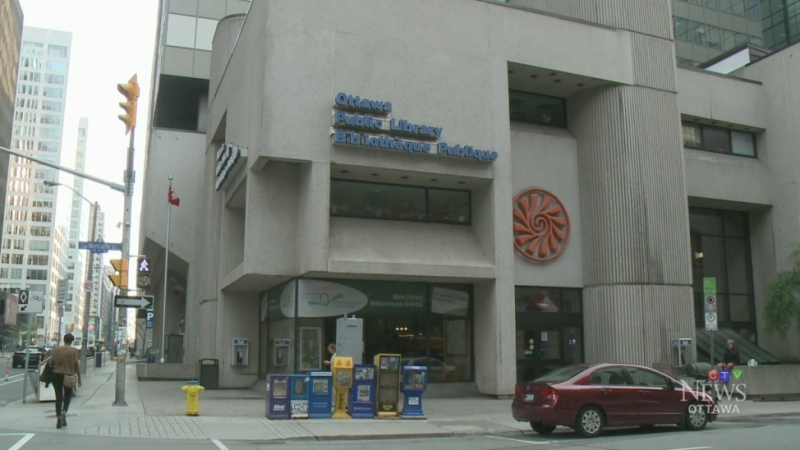 The downtown branch of the Ottawa Public Library.