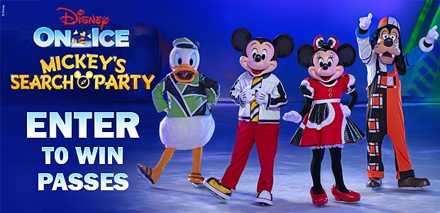Disney on Ice 2020 Banner