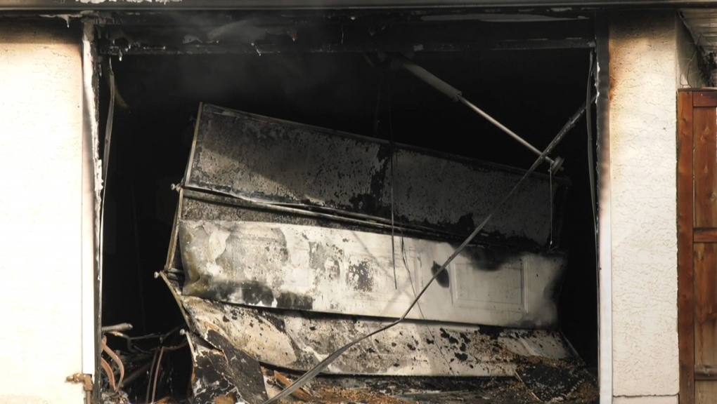garage, fire, Albert Park, Radisson Heights