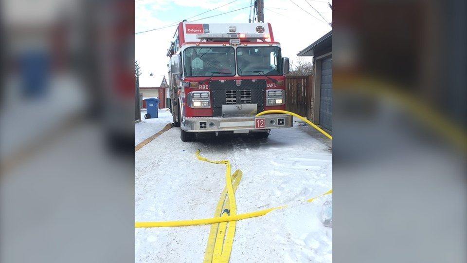 Albert Park, Radisson Heights, garage fire