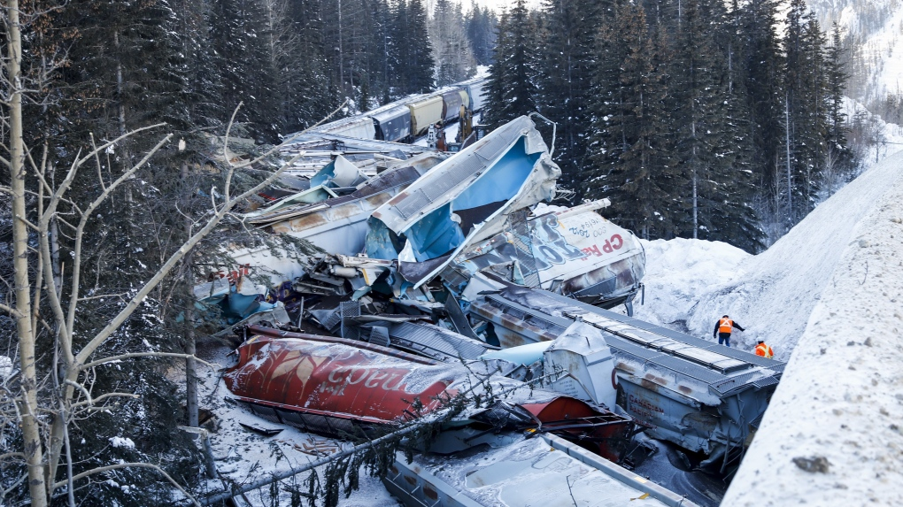 Train derailment 2019